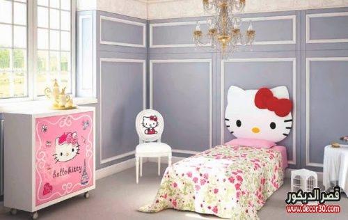 غرف نوم اطفال بنات حديثة