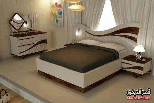 غرف نوم تركية حديثة