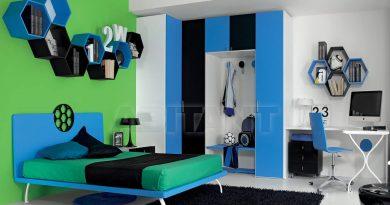 تصاميم غرف نوم شباب متنوعه