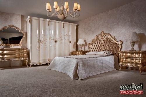 غرف نوم للعرسان كامله دهبى