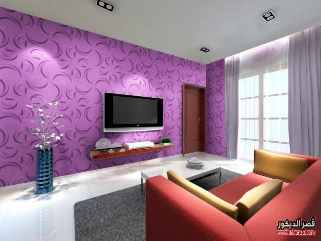 صور غرف معيشة باللون الرمادي