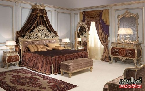 تناسق غرف النوم