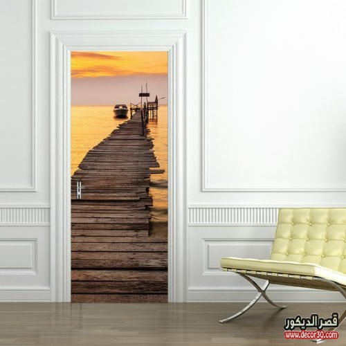 أبواب خشبية للمنازل العصرية