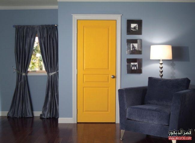 تصميمات أبواب خشب حديثة