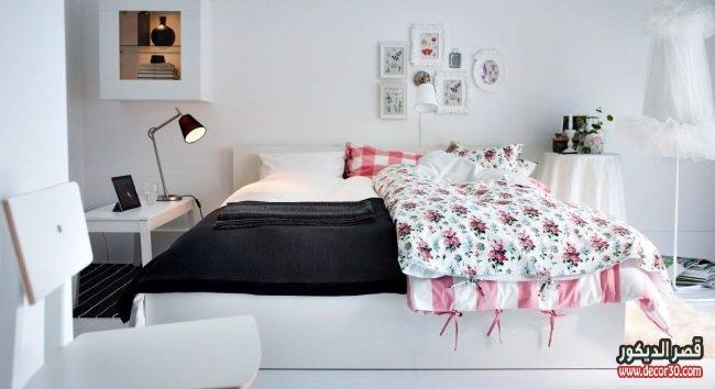 تصاميم ايكيا غرف نوم واسعارها