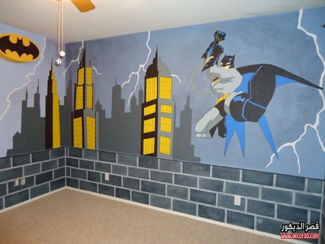 دهانات حوائط غرف أطفال بالصور