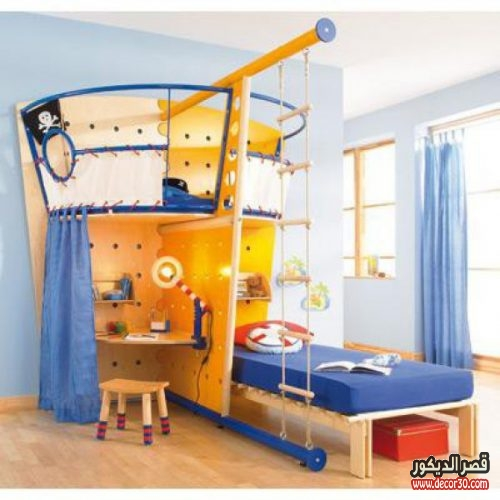 احدث غرف نوم اطفال اولاد
