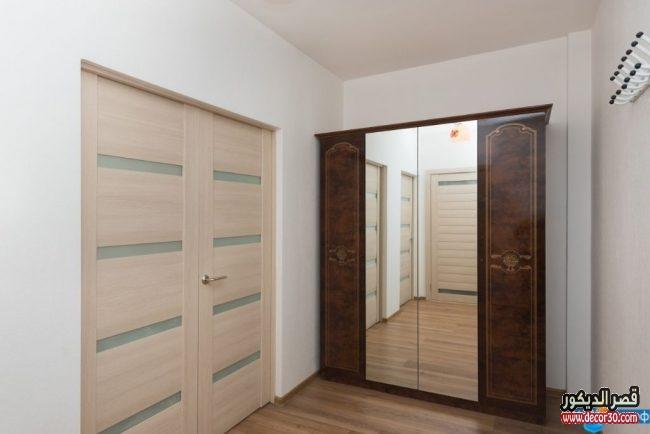 أبواب غرف خشبية حديثة