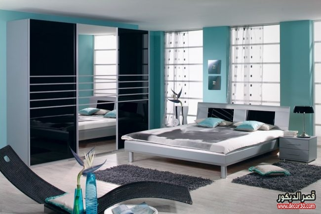 غرف نوم حديثة للعرسان