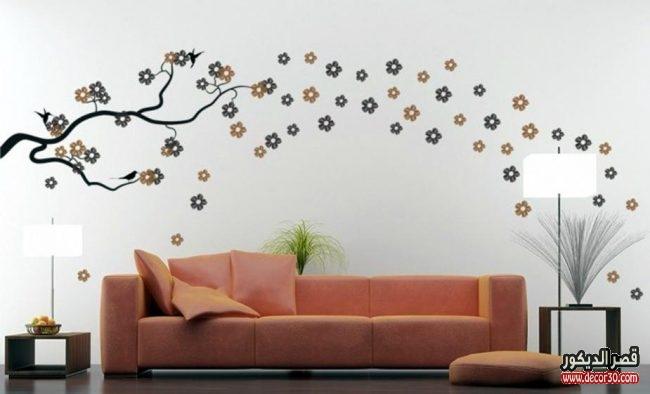 تصميمات دهانات جدران حديثة