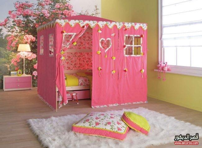تصاميم غرف نوم مودرن للأطفال