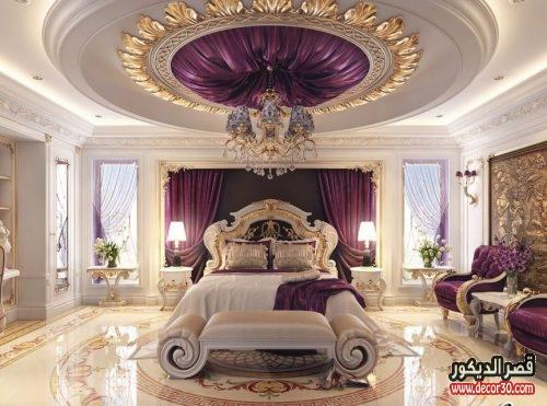 الوان غرف نوم للعرسان للفلل