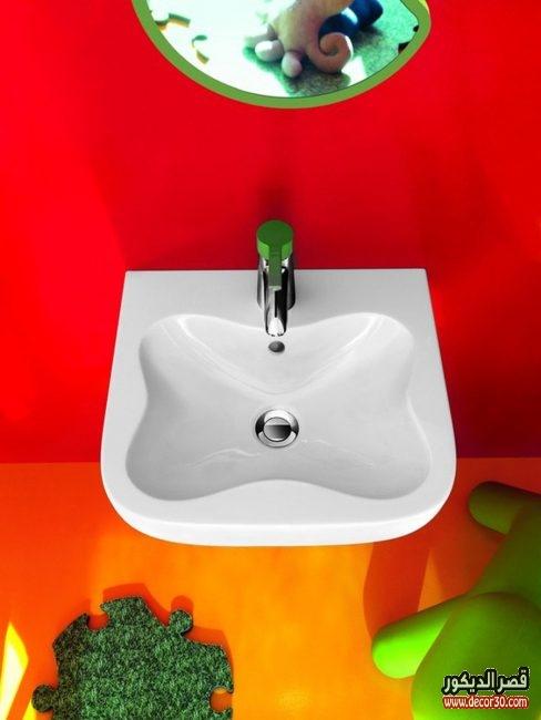 اشكال احواض للحمامات حديثة