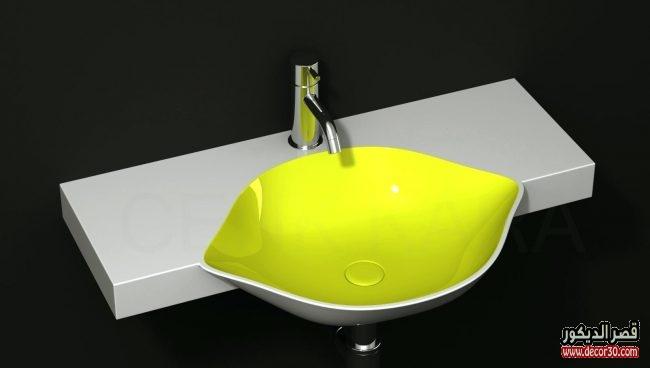 اشكال مغاسل رخام حمامات