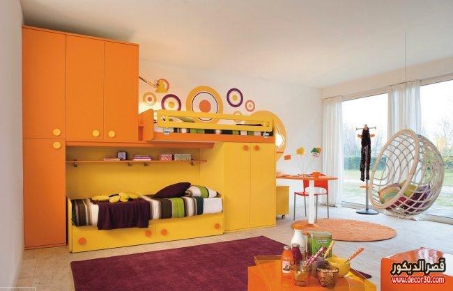 احدث غرف أطفال تصاميم مودرن