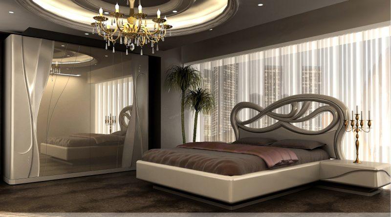 الوان غرف نوم كاملة مودرن