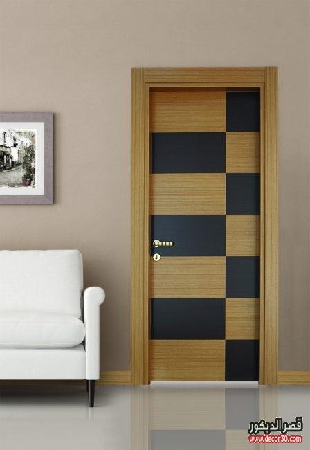 تصاميم أبواب خشب داخلية