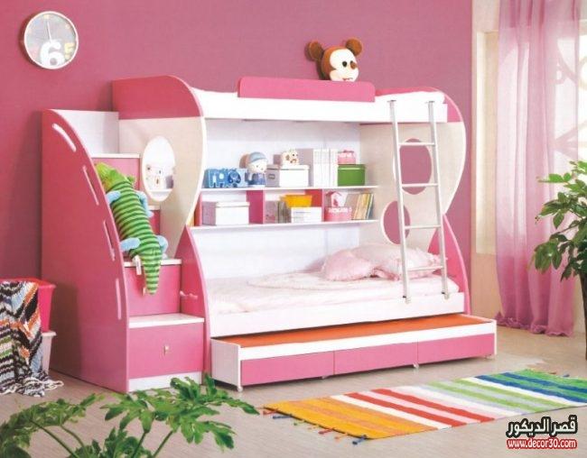 الوان غرف نوم أطفال حديثة