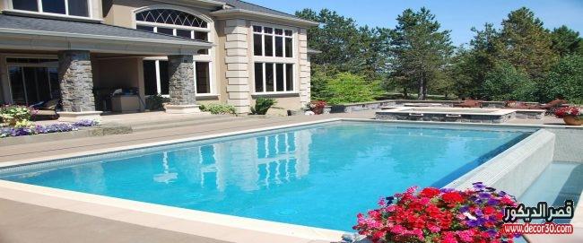 اشكال حمامات سباحة في المنزل