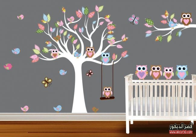 دهانات جدران غرف أطفال 2018