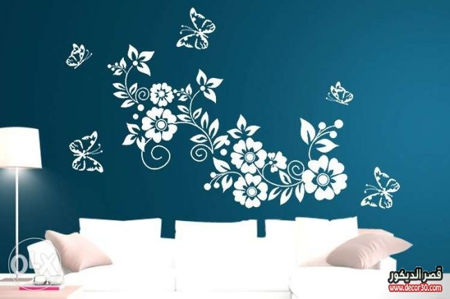 creative wall color combination with blue 81 for with wall