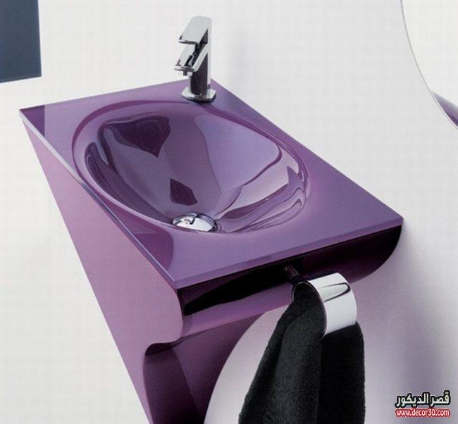 الوان مغاسل جديدة حمامات