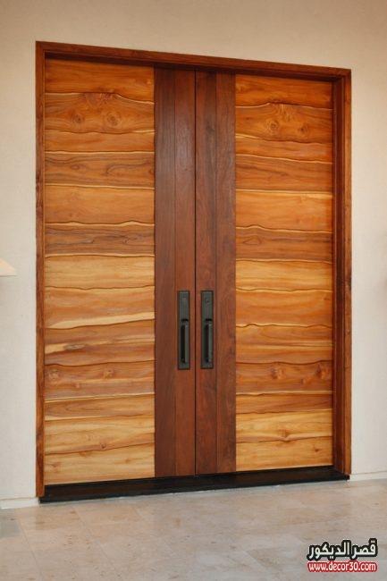بالصور أبواب خشبية للغرف