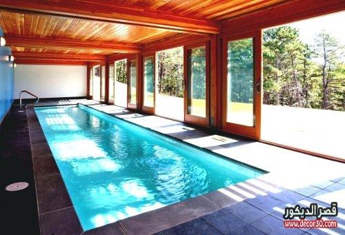 حمامات سباحة داخل المنزل