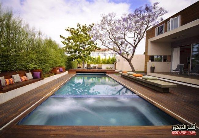 اشكال حمامات سباحة منزلية