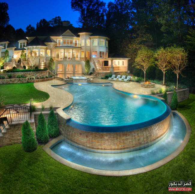 حمامات سباحة منزلية حصرية