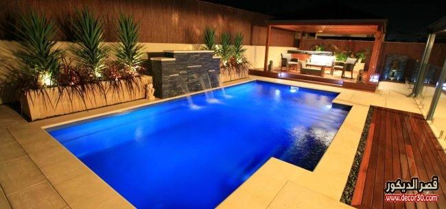 حمامات سباحة منزلية جديدة