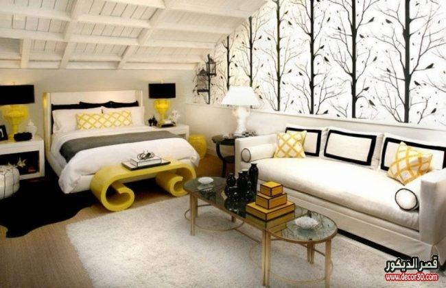 تصاميم ديكورات لغرف نوم