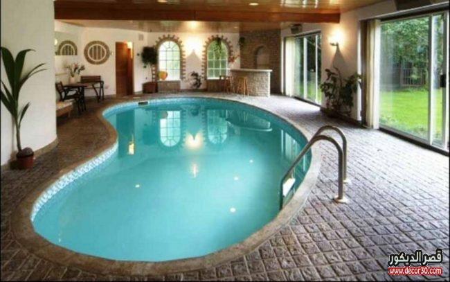 حمامات سباحة منزلية فخمة