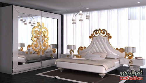 ديكورات غرف مودرن للعرسان
