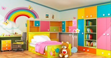 غرف نوم أطفال تصاميم حديثة