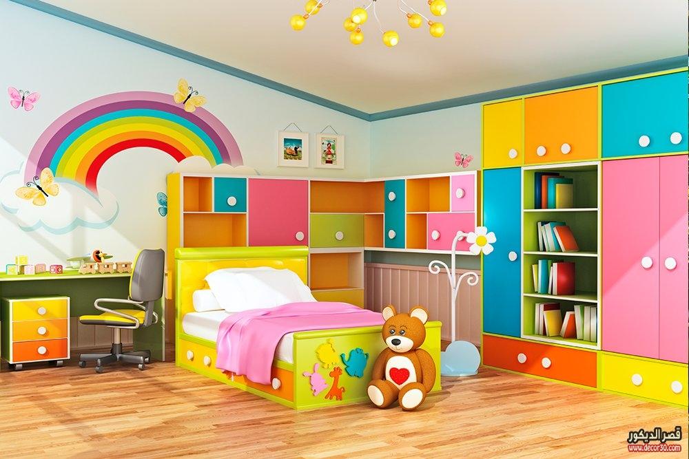 اوض نوم اطفال 70 فكرة لتصاميم غرف الأطفال   قصر الديكور