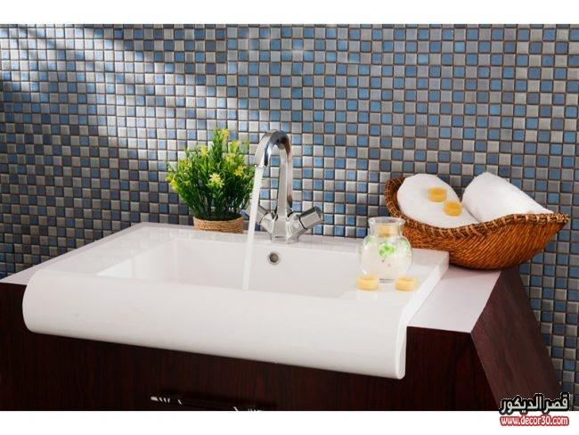 تصميمات مغاسل حمامات حصرية