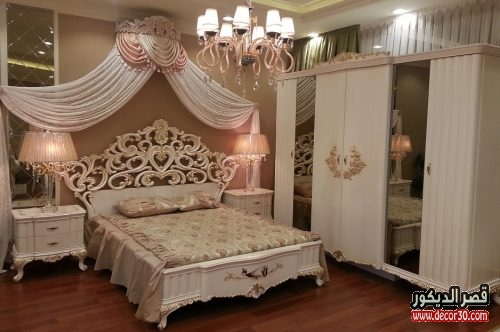 صور احدث غرف النوم المصريه