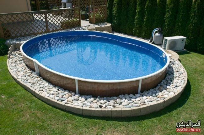 حمامات سباحة منزلية مودرن