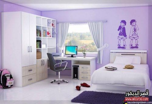 صور غرف اطفال بنات مودرن