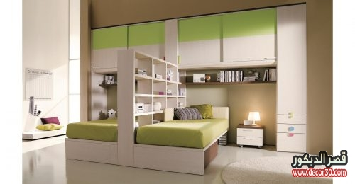 صور غرف اطفال مودرن 2 سرير