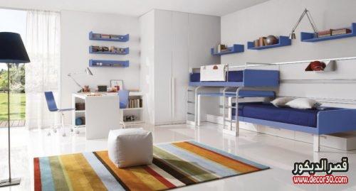 صور غرف نوم اطفال طابقين