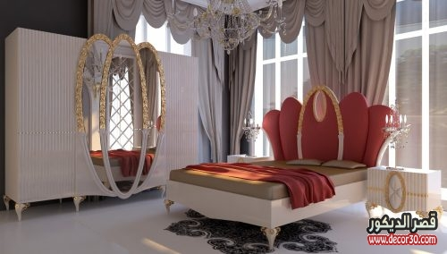 صور غرف نوم تركية للعرسان