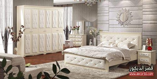 صور غرف نوم كاملة بالدولاب دمياطى