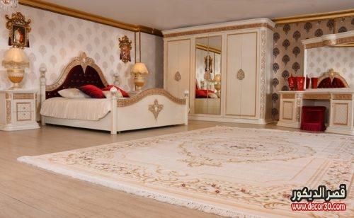 صور غرف نوم كلاسيك تركي
