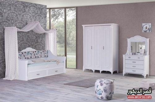صور غرف نوم للبنات مودرن