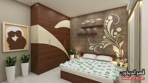 صور غرف نوم للعروسين مودرن