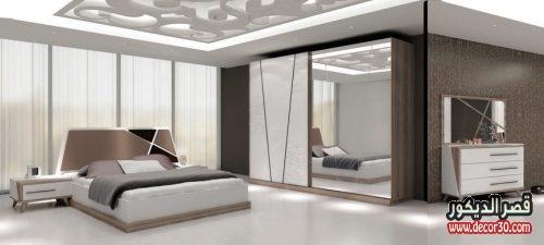 صور غرف نوم مودرن كاملة