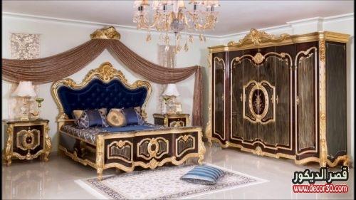 صور غرف نوم مودرن كلاسيك