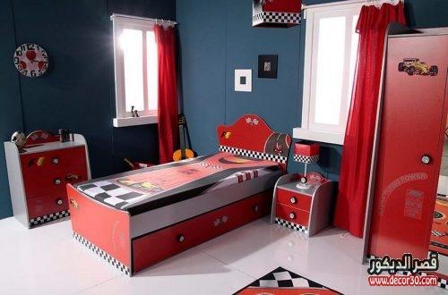 غرفة نوم اولاد سيارات